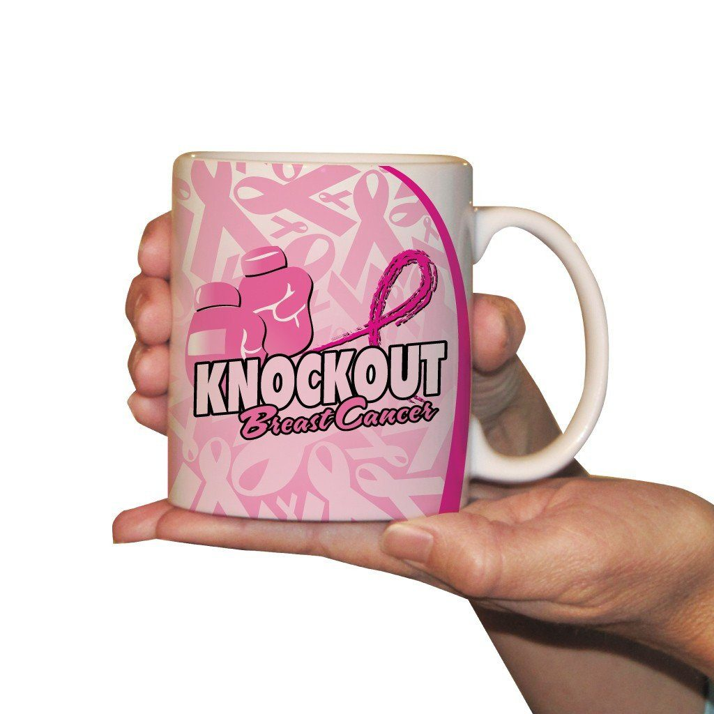 Knock Out Breast Cancer - Coffee Mug