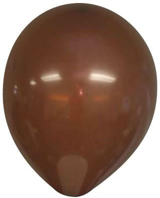 A brown balloon