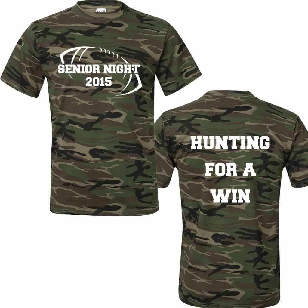 Riverdale Rams Senior Night Camo Shirt Hunting For A Win