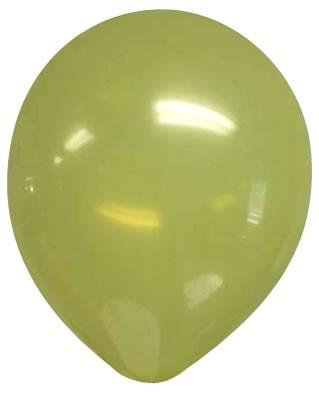 A yellowish green balloon
