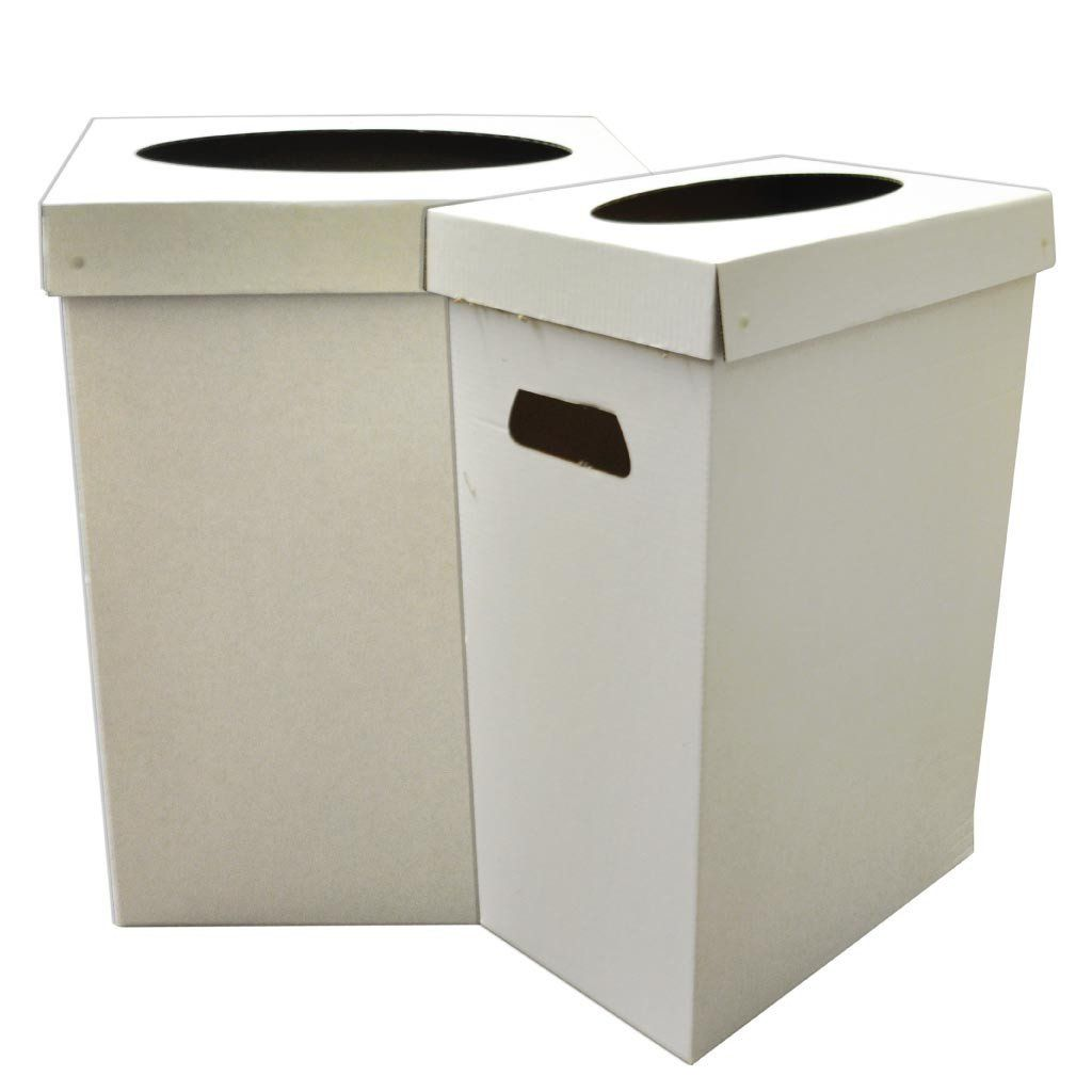 Disposable Recyclable Cardboard Trash Cans