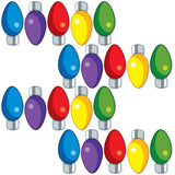Giant Christmas Light Bulb Pathway Markers Lawn Decorations
