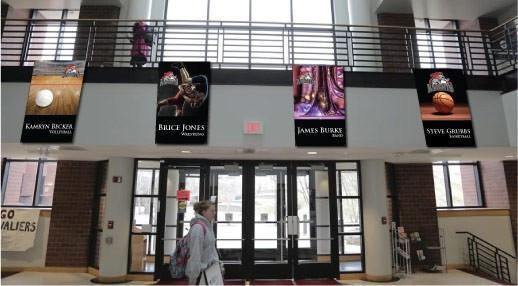 Marching Band Spirit Banners