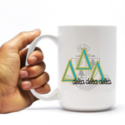 Tri Delta 15oz Coffee Mug