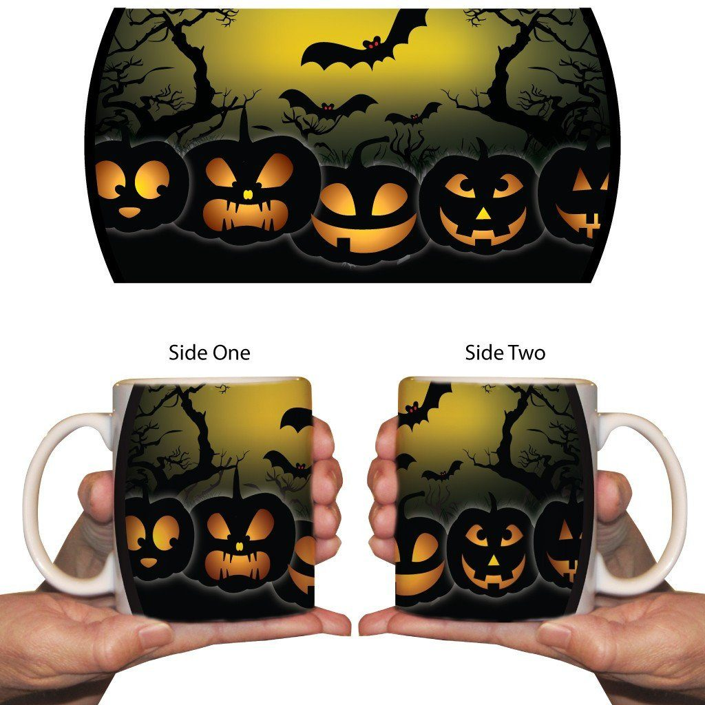 Scary Jack-o-lantern 15oz Coffee Mug