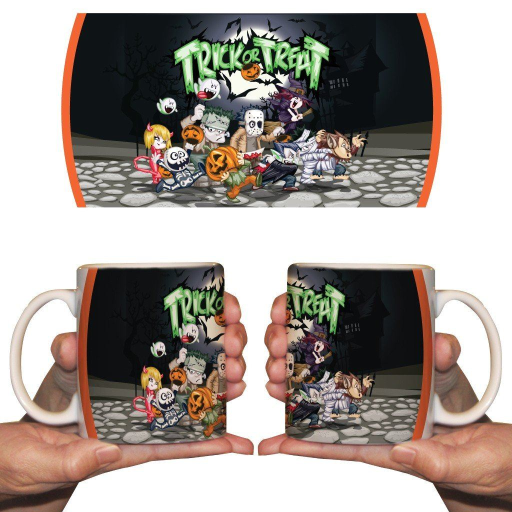 Trick or Treat 15oz Coffee Mug