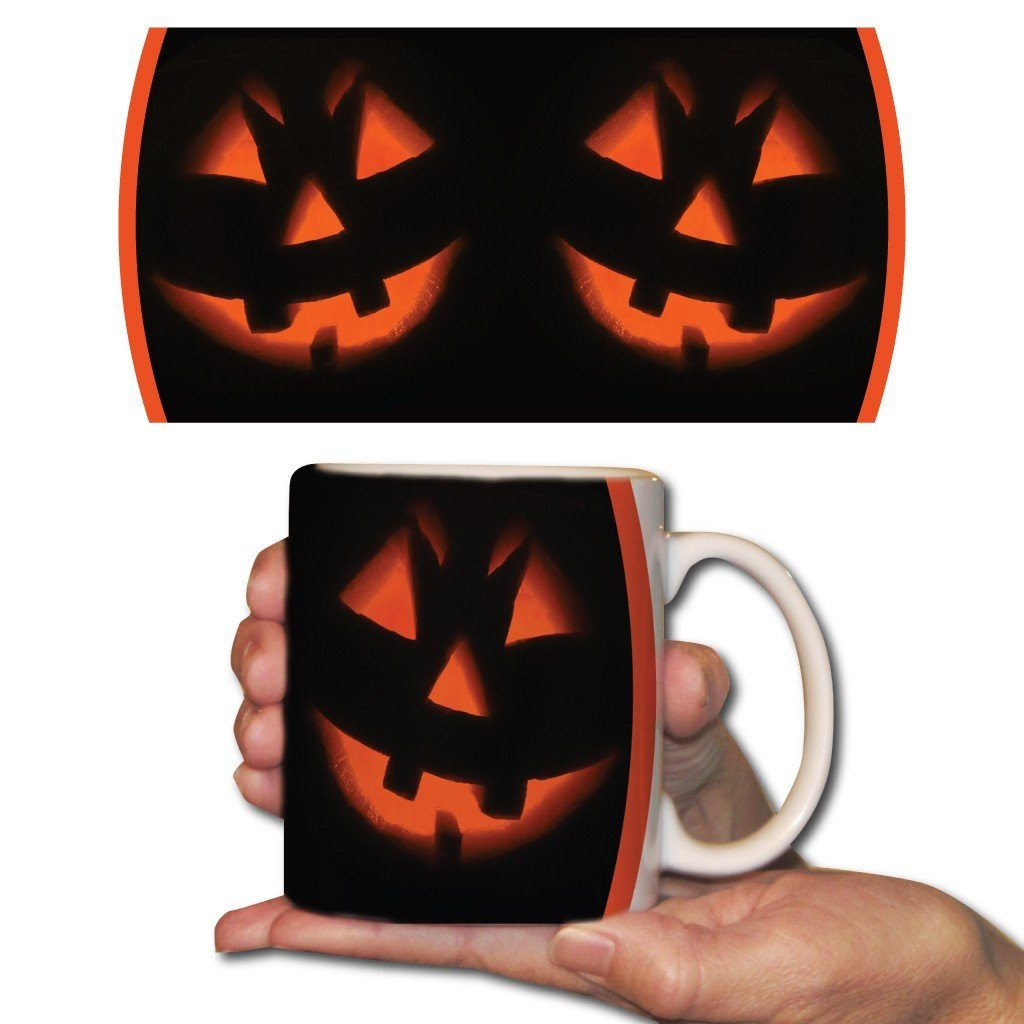 Pumpkin Face 15oz Coffee Mug