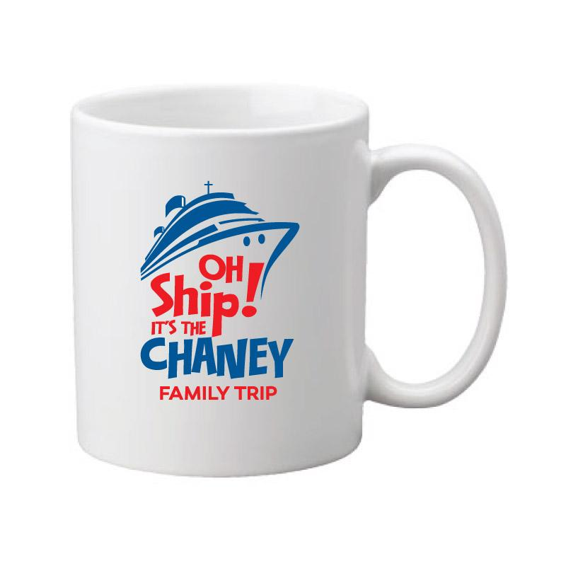 Personalized Cruise Coffee Mug