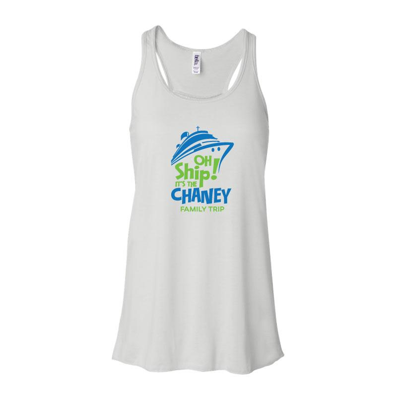 Personalized Cruise Vacation Ladies Tank Tops