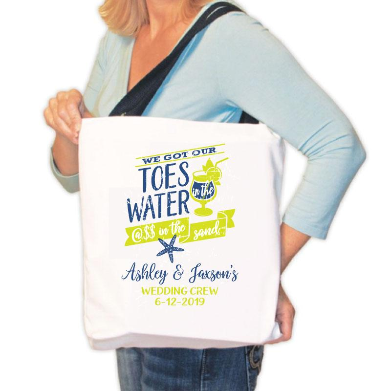 Personalized Cruise Vacation Canvas Tote Bag