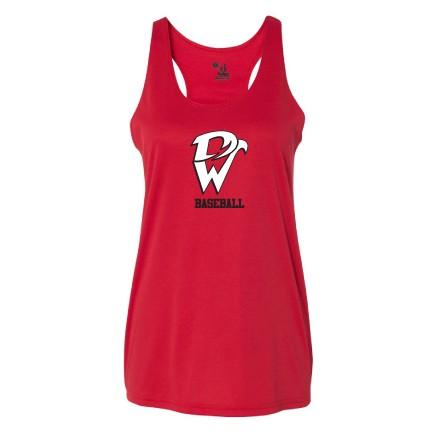 Davenport West B-Core Women's Racerback Tank Top