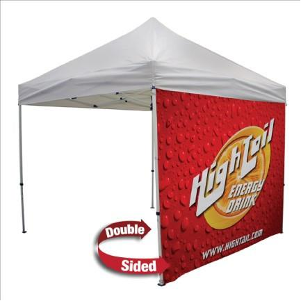 Double-Sided Tent Full Wall - 10 ft