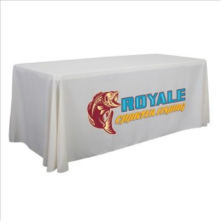 Economy Table Throws - Full Color Dye Sub Imprint