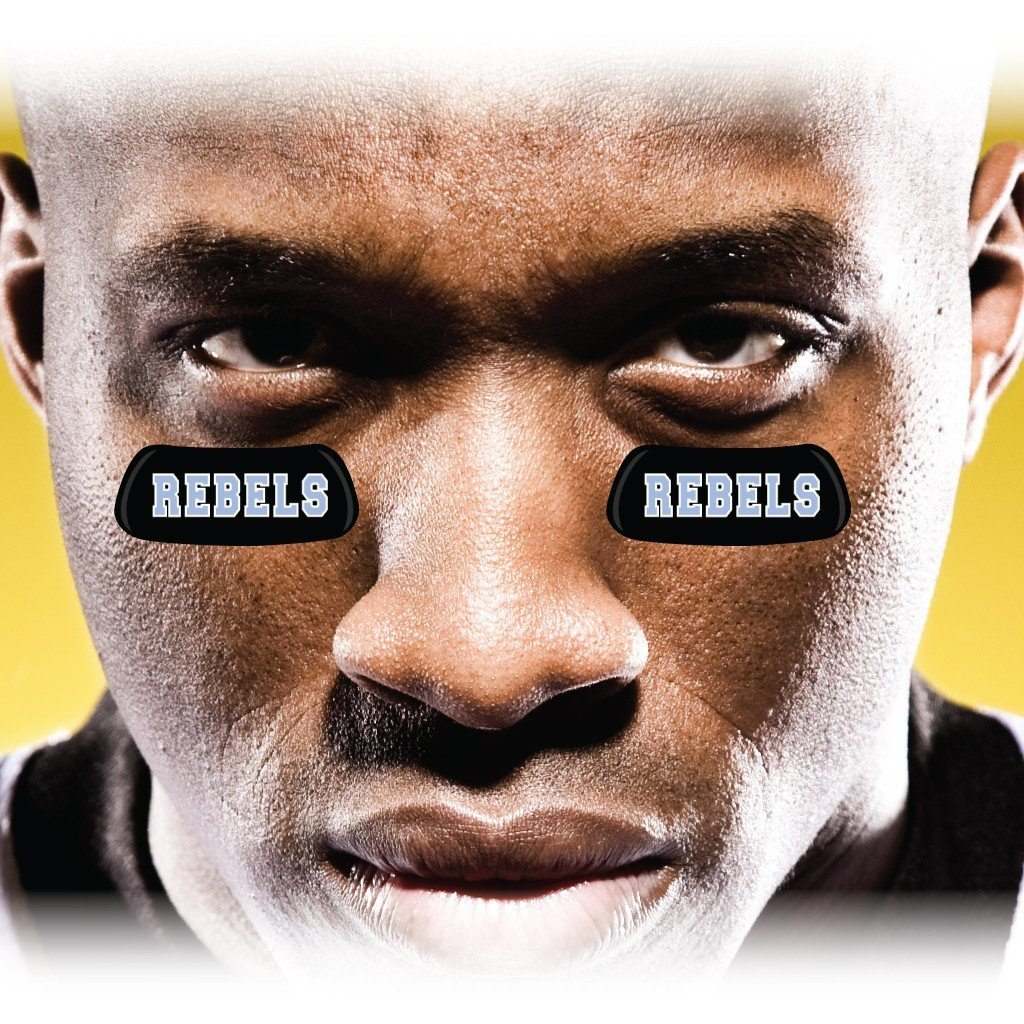 Rebels Eye Black