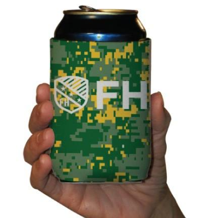 FarmHouse Fraternity Can Cooler - Set of 6 FREE SHIPPING