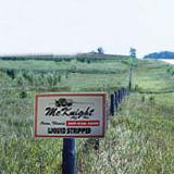 Custom Field Signs - 2' x 3' White Corrugated Plastic Field and Plot Signs