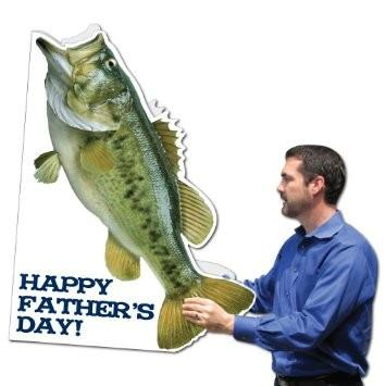 Giant Father's Day Card - Fishing Theme