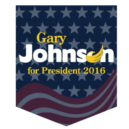 Gary Johnson for President Pocket T-Shirt - FREE SHIPPING