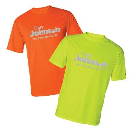 Gary Johnson for President Sport SafetyRunner Reflective Performance - FREE SHIPPING