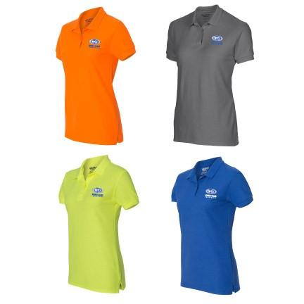 WCI Embroidered Ladies Gildan Dry Blend polo