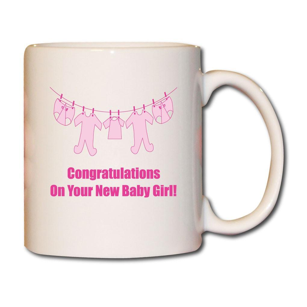 It's a Girl! Baby Clothes - New Baby Gift - Coffee Mug