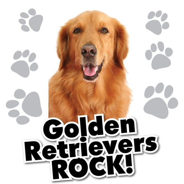 Golden Retrievers Rock! White T-Shirt