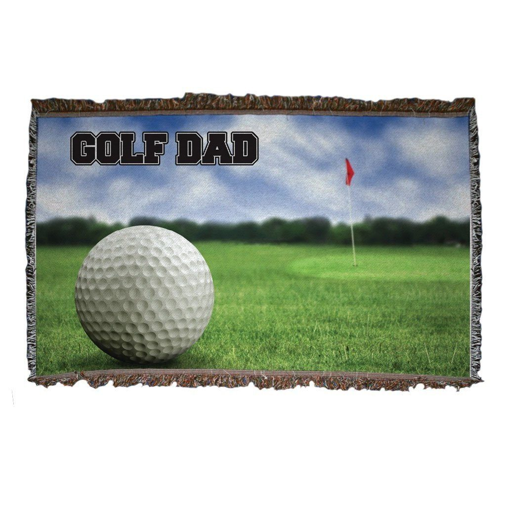Golf Dad Woven Blanket