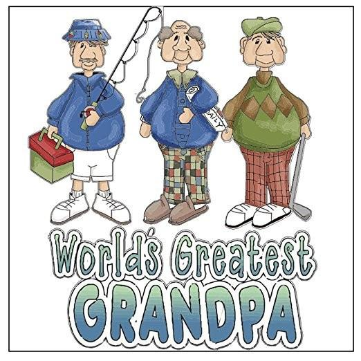 A 2D template for a worlds greatest grandpa sign