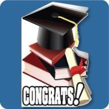 3' Tall Design Your Own Graduation Shaped Card