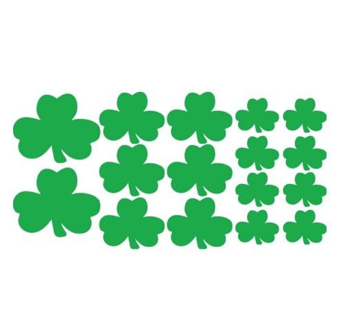 St. Patrick's Day - Yard Decoration - Green Shamrocks - FREE SHIPPING