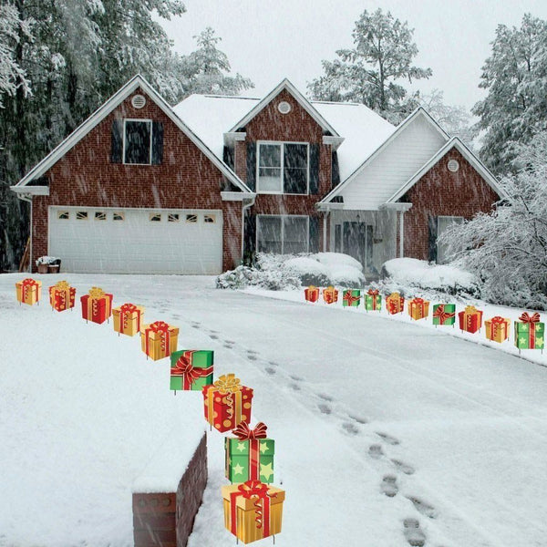 Holiday Bundle Pathway Decorations - Valentines Day, St Patricks Day,