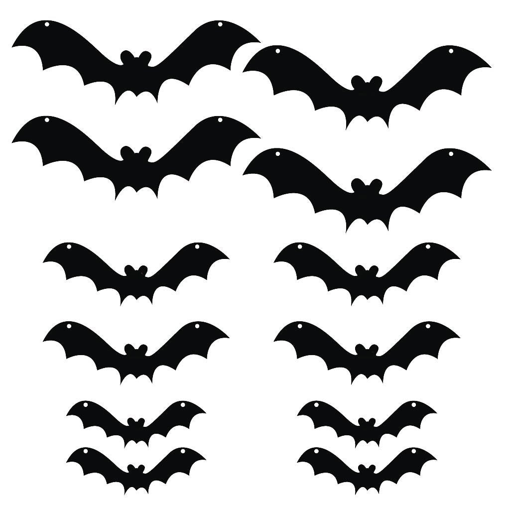 Halloween Yard Decoration Scary Hanging Bats - FREE SHIPPING