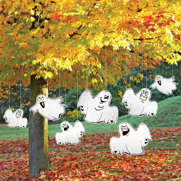 Halloween Yard Decoration Funny Ghosts Hanging Decorations