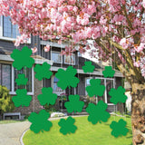 St. Patrick's Day Lawn Decorations - Hanging Shamrocks - Free Shipping