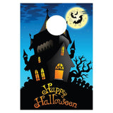 Happy Halloween Haunted House Bag Toss Game