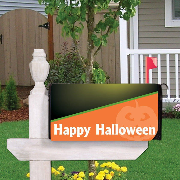 A magnetic halloween mail cover