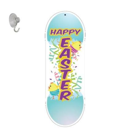 "Easter Door Decoration - ""Happy Easter"""