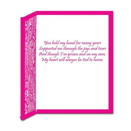 "Giant Mother's Day Card - Stock Design - ""Happy Mother's Day"" - Free Shipping"