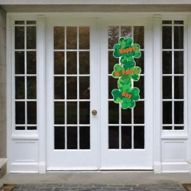 "St. Patrick's Day Door Decoration - ""Happy St. Patty's Day"""