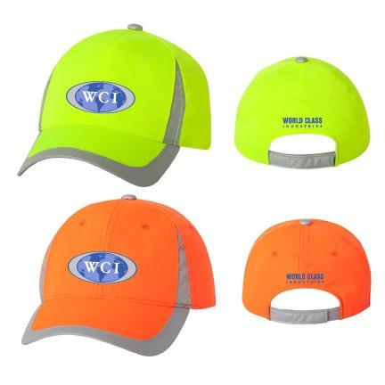 WCI Embroidered front and back Outdoor adjustable cap