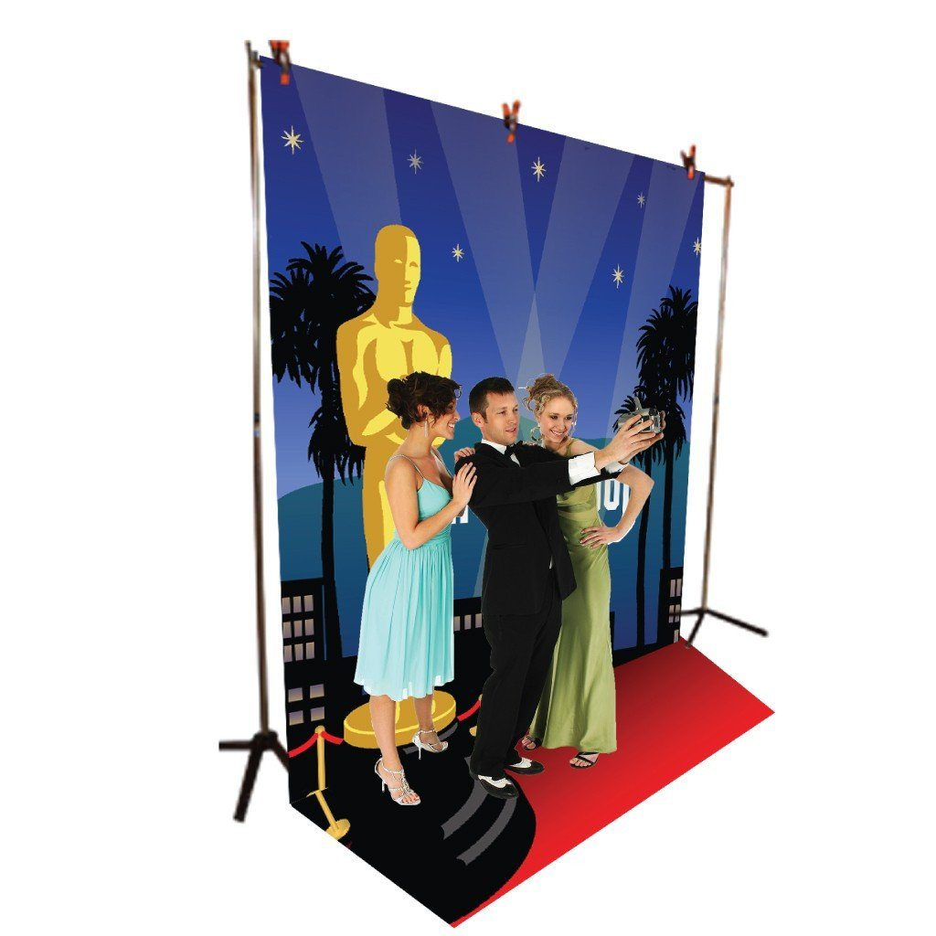 Hollywood Vinyl Photography Backdrop - 8'x10' or 8'x14'