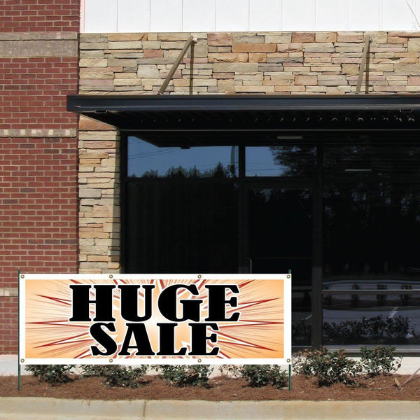 Huge Sale! Vinyl Banner with Grommets