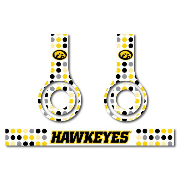 University of Iowa - Set of 3 Patterns - Skins for Beats Solo HD