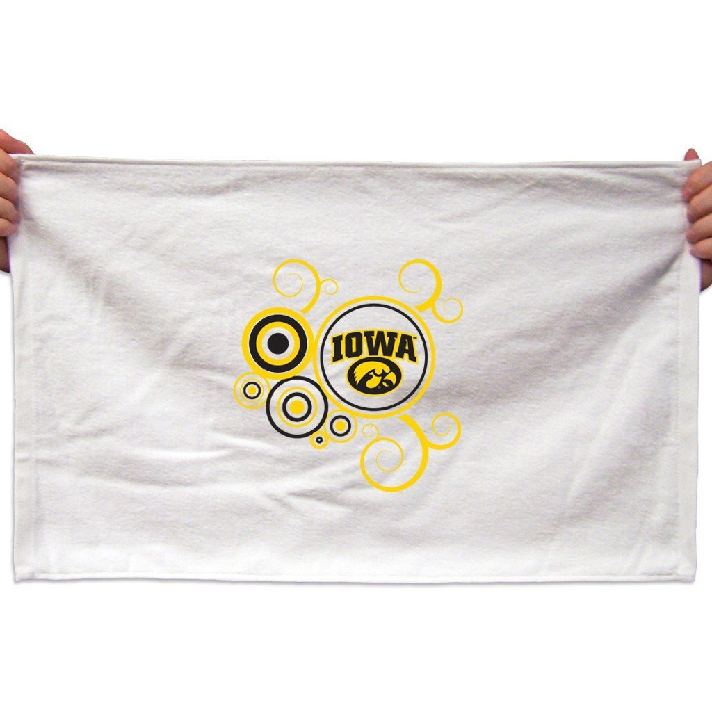 University of Iowa Rally Towel (Set of 3) - Swirl Design