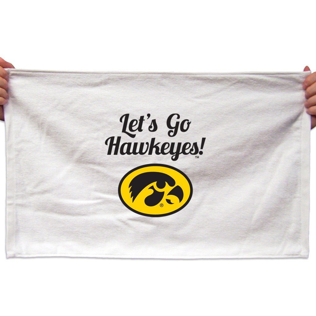 University of Iowa Rally Towel - Set of 4 Designs
