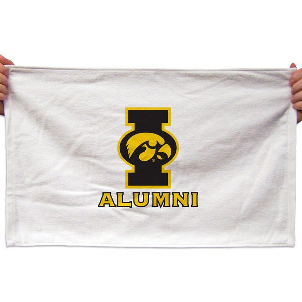 University of Iowa Rally Towel (Set of 3) - Alumni Design