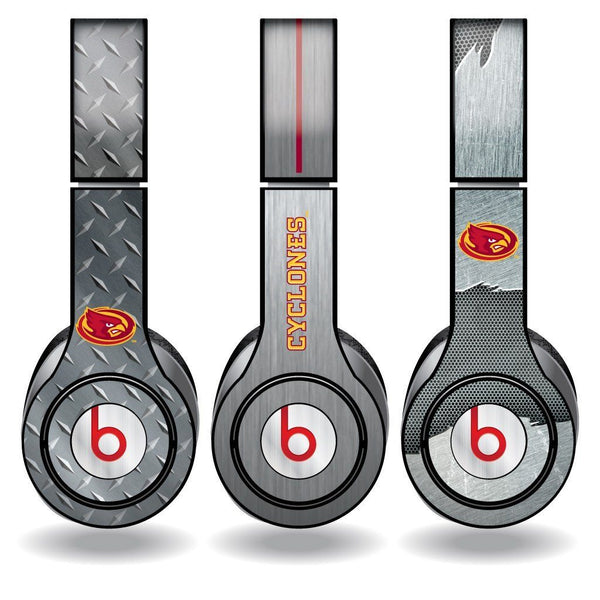 "Iowa State Skins for Beats Solo HD Headphones "" Set of 3 Metal"