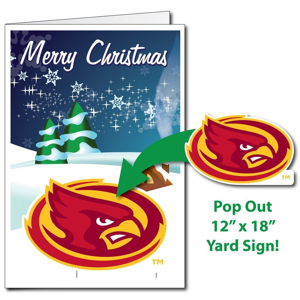 A Iowa State University merry Christmas Card