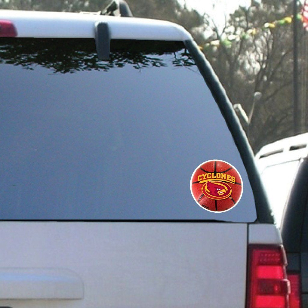 Iowa State University - Window Decal (Set of 2) - Basketball