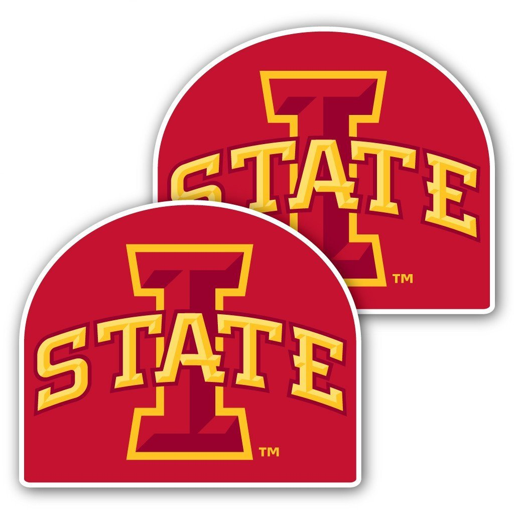 Iowa State University - Window Decal (Set of 2) - I State
